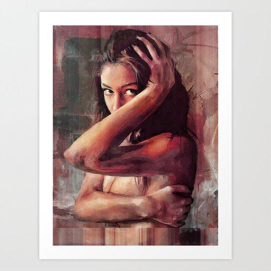 Nude1 Art Print