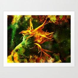 Burning Sensation Art Print