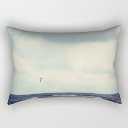 As the Gull Flies Rectangular Pillow