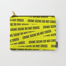 Crime Scene Tape Pattern Carry-All Pouch