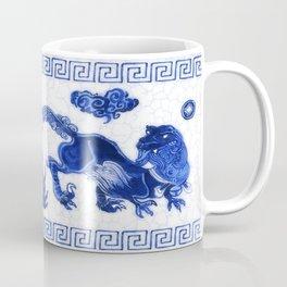 Utahraptor Hunt Coffee Mug