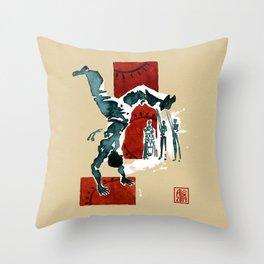 Capoeira 554 Throw Pillow