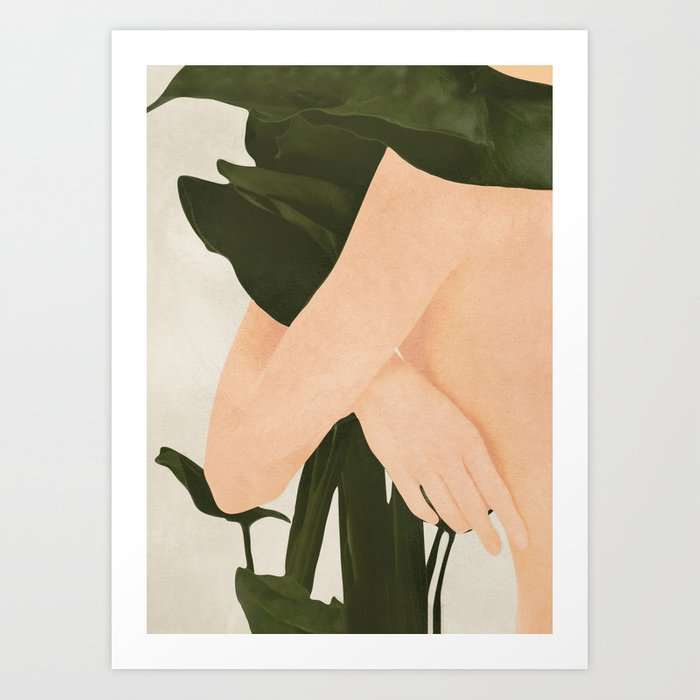 In my Arms Art Print