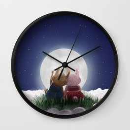 Here with me (under the stars) Wall Clock