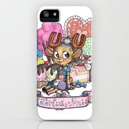cotton candy prince iPhone Case