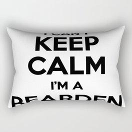 I cant keep calm I am a BEARDEN Rectangular Pillow