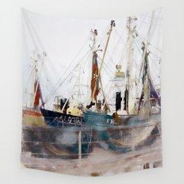 Fishermens friend Wall Tapestry