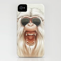 The Great White Angry Monkey iPhone (4, 4s) Slim Case