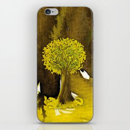 The Fortune Tree #5 iPhone Skin