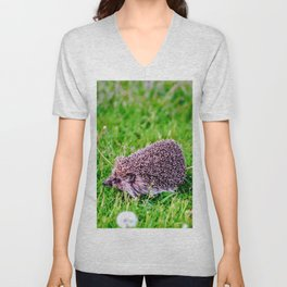 Dandelion Run Unisex V-Neck
