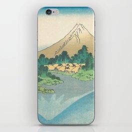 Katsushika Hokusai - Mt Fuji Reflection iPhone Skin