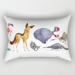 African animals 3 Rectangular Pillow