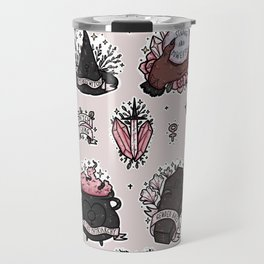 feminist witch Travel Mug
