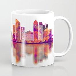 Johor Bahru Malaysia Skyline Coffee Mug