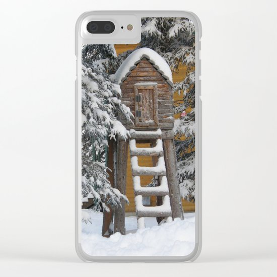 Keeping Things Way Cool Clear iPhone Case