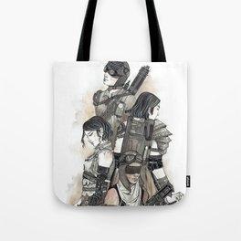 Built as Warriors Tote Bag
