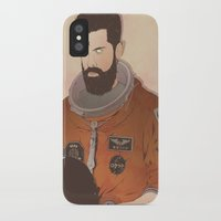 western iPhone & iPod Cases featuring Western Mandela by Lazy Trope