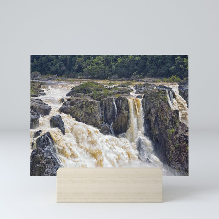 Barron Falls in Queensland Mini Art Print