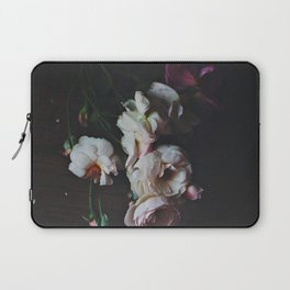English Roses Still Life - Dark Number Two Laptop Sleeve