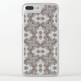 Tree Weave 4 Fabric Clear iPhone Case