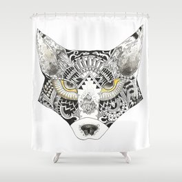 Mr. Foxie Shower Curtain