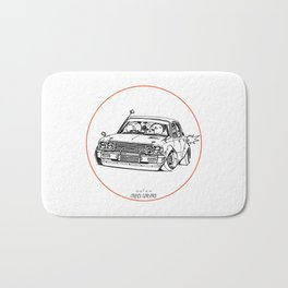 Crazy Car Art 0224 Bath Mat