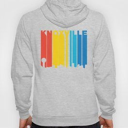 Retro 1970's Style Knoxville Tennessee Skyline Hoody