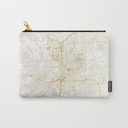 Atlanta Map Gold Carry-All Pouch