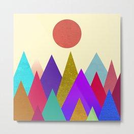 Abstract #441 Metal Print