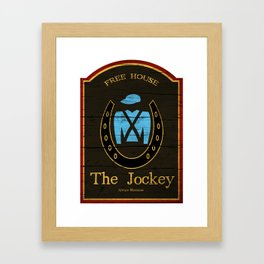 The Jockey - Shameless Framed Art Print