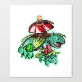 Méca-Bulbasaur's Crew Canvas Print