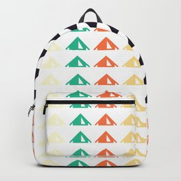 Busy Campground Backpack