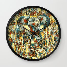 AnimalArt_Elephant_20170905_by_JAMColorsSpecial Wall Clock