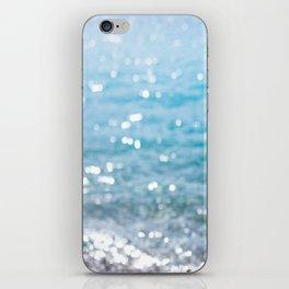 sparkling sea iPhone Skin
