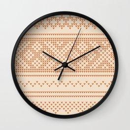 Northern Knit II Wall Clock