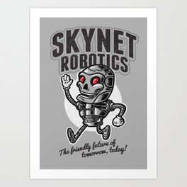 The Friendly Future Art Print