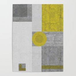 Modernist Distressed Poster