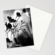 Poppies Flowers, Effervescence Stationery Cards