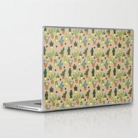 cacti Laptop & iPad Skins featuring Cacti by Alisse Ferrari
