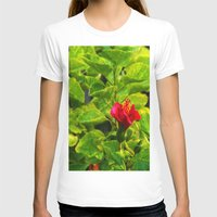 hibiscus T-shirts featuring Hibiscus by Rachel Butler
