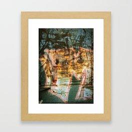 Graffiti Love: Take Two Framed Art Print