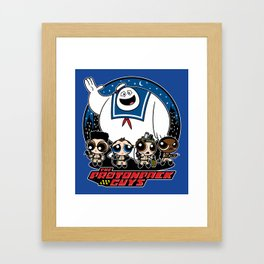 The Protonpack Guys Framed Art Print