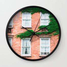 West Village Summer Wall Clock
