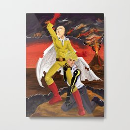 One Punch Metal Print