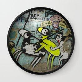 Not Living Kills - No Vivir Mata Wall Clock