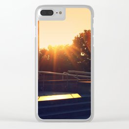 Pennsylvania State Museum with Sun Flare Clear iPhone Case