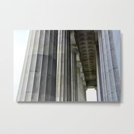 Lincoln Colonnade Metal Print