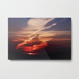 Sunset Dance Metal Print