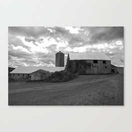 Old Working Farm Canvas Print