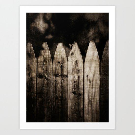 Containing Darkness Art Print